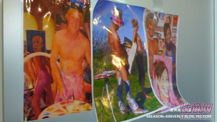 2009亚洲成人博览AAE现场报道―绘画表演图片10