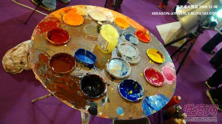 2009亚洲成人博览AAE现场报道―绘画表演图片14