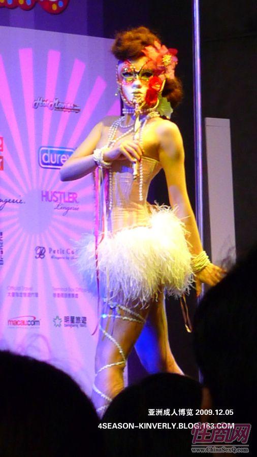 2009亚洲成人博览日本Libido钢管舞表演图片6