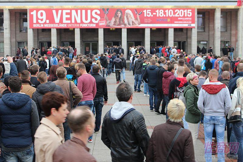 2015第19届德国柏林成人展VENUS吸引众多当地民众参加