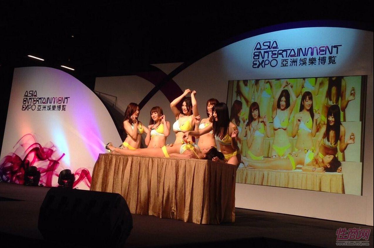 2015亚洲娱乐博览(澳门)女优组团助阵图片10