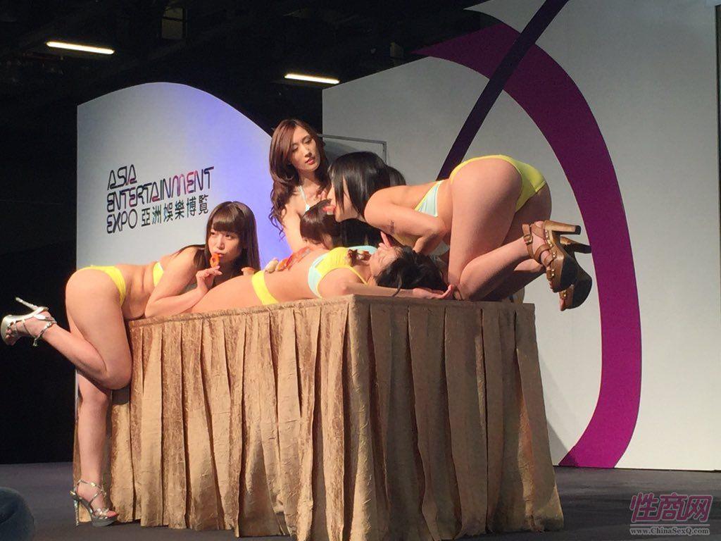 2015亚洲娱乐博览(澳门)女优组团助阵图片17