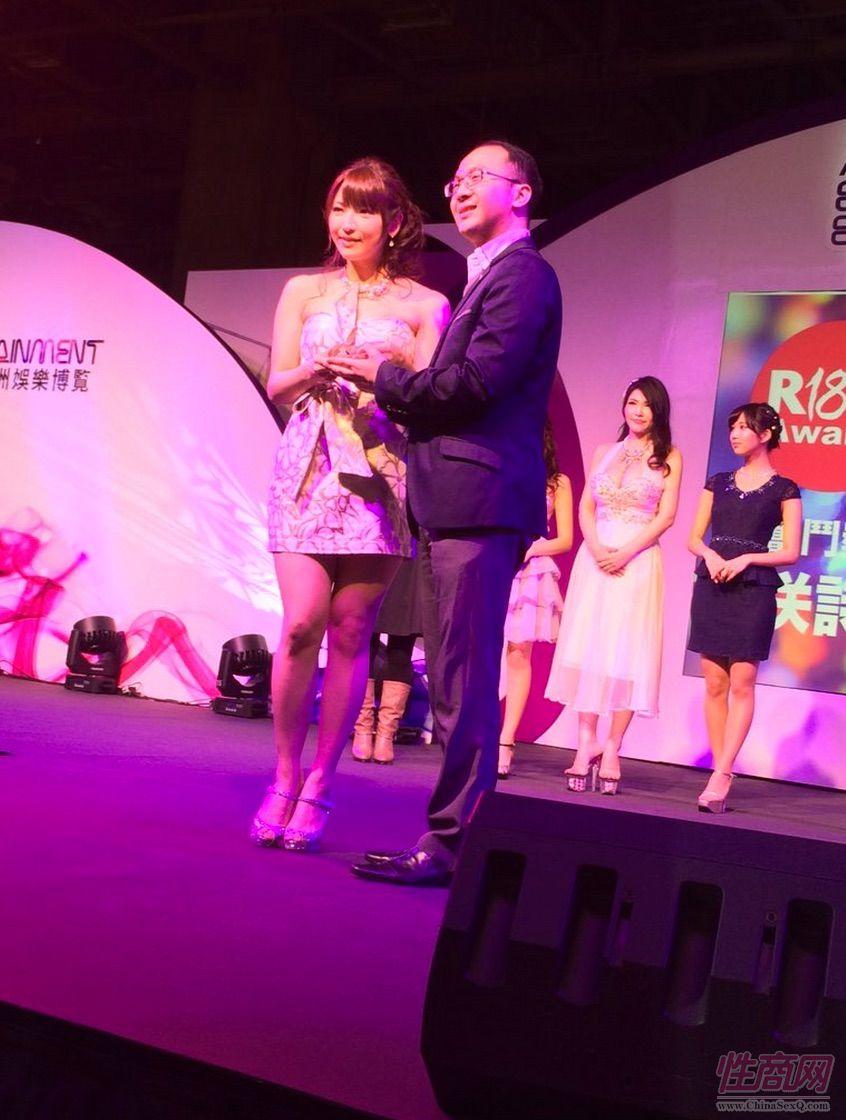 2015亚洲娱乐博览(澳门)女优组团助阵图片55
