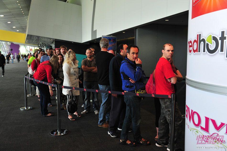 2013澳大利亚墨尔本成人展―参展观众(1)图片2