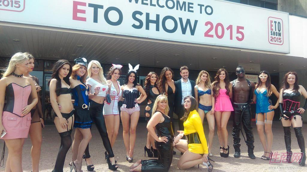 2015英国成人展(ETOShow)模特性感靓丽图片1