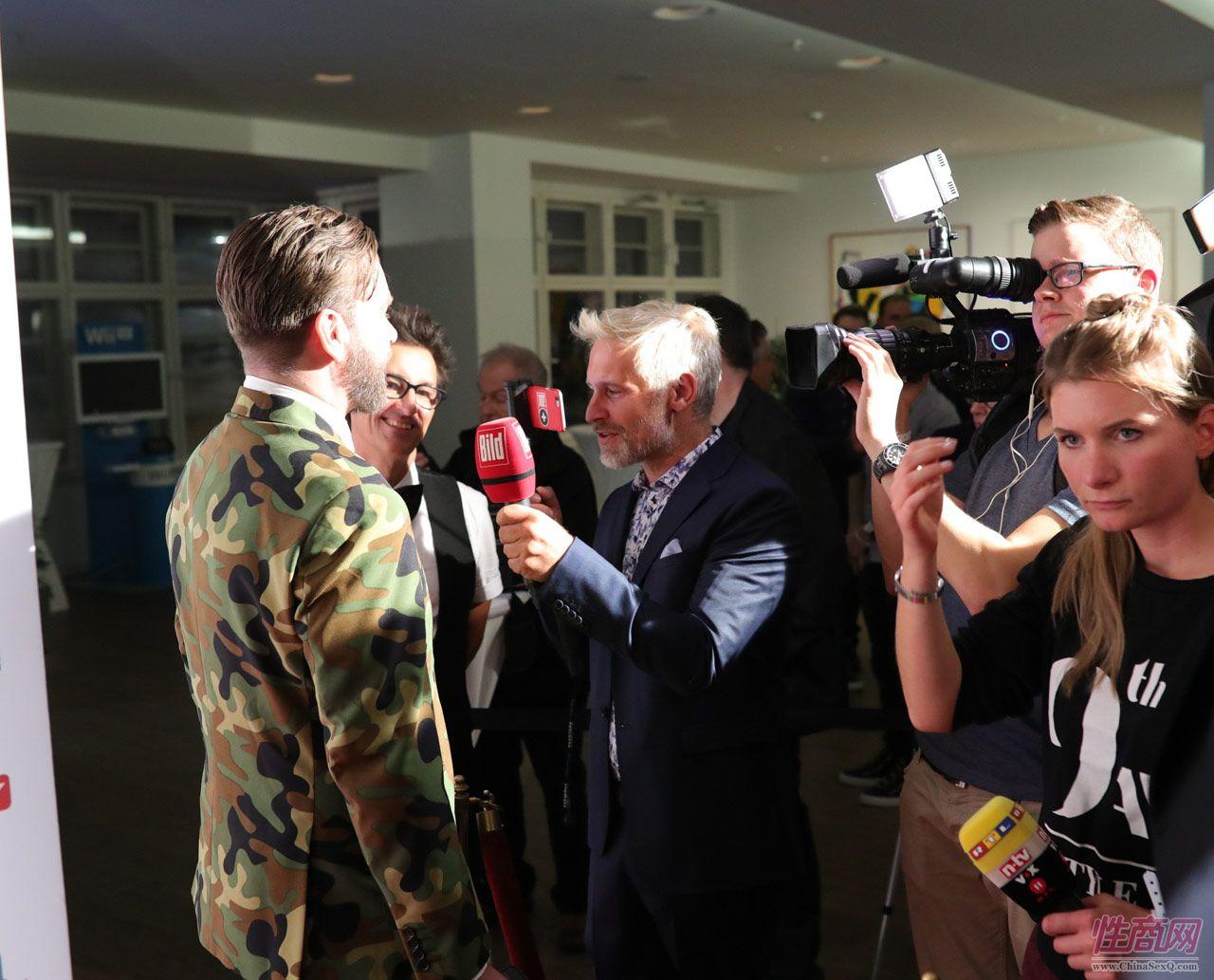 2016德国柏林成人展VENUS――媒体采访图片3