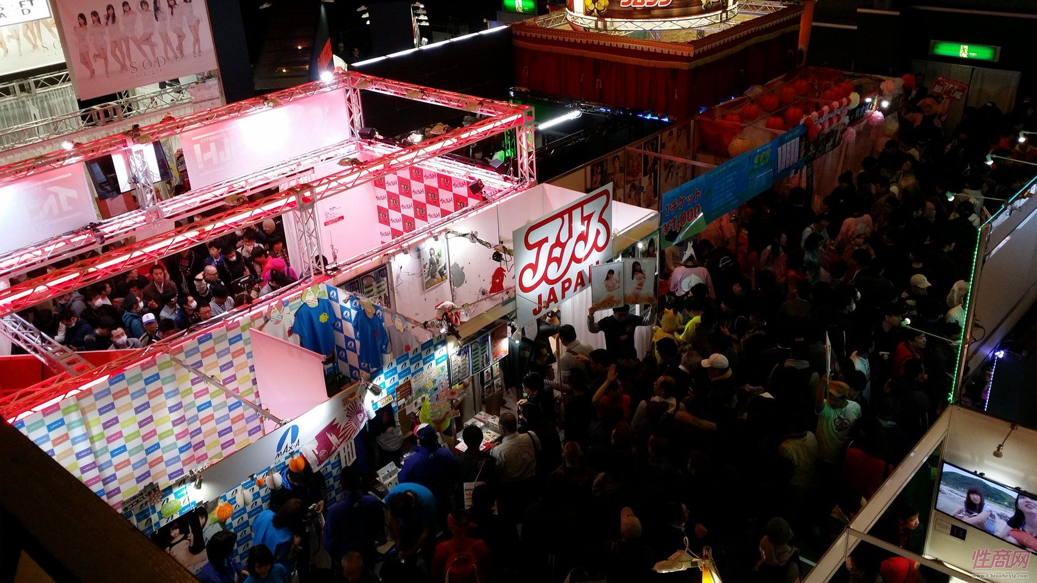 2016日本成人展JapanAdultExpo展会现场1图片1