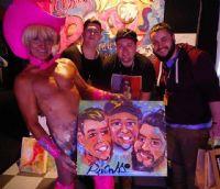 2016澳大利亚墨尔本成人展sexpo人体油画图片4