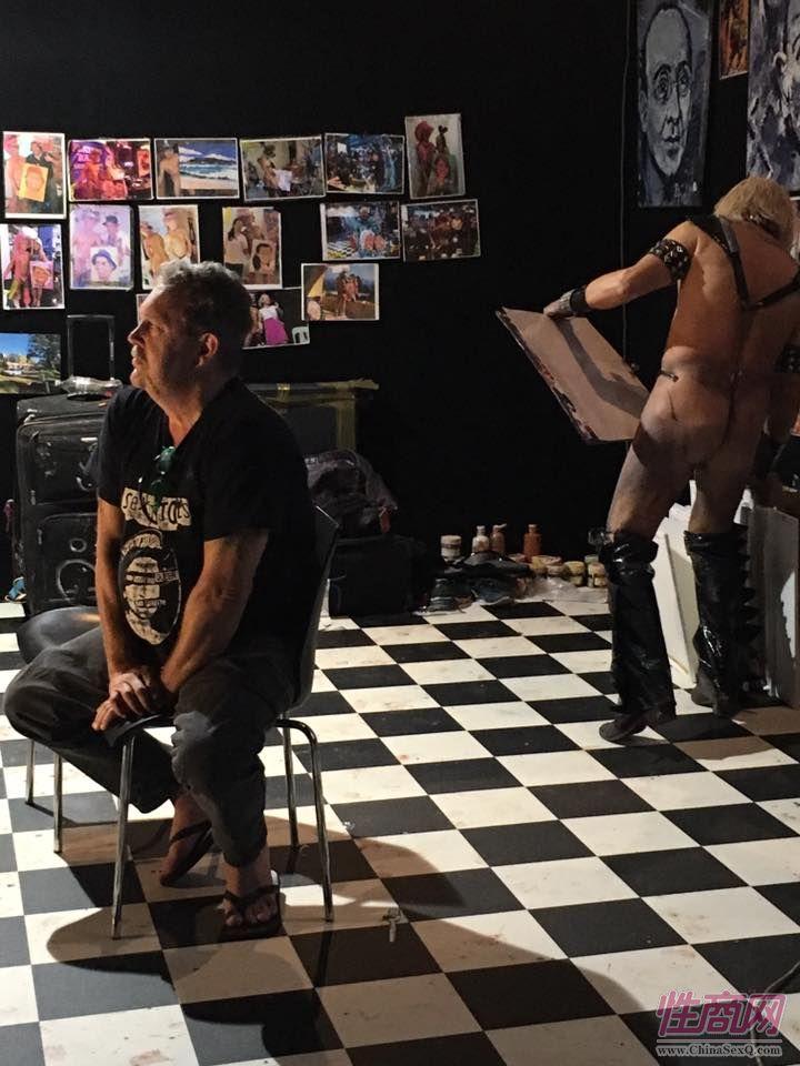 2016澳大利亚悉尼成人展毕加索人体油画图片2