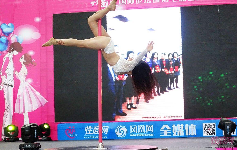 2016西安性博会现场报道――钢管舞表演图片82