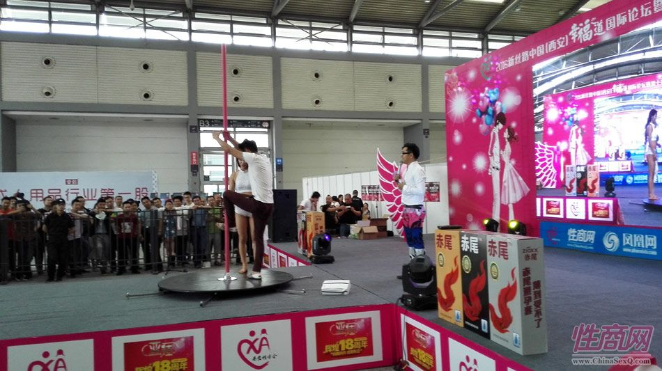 2016西安性博会现场报道――钢管舞表演图片21