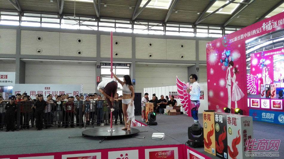 2016西安性博会现场报道――钢管舞表演图片25