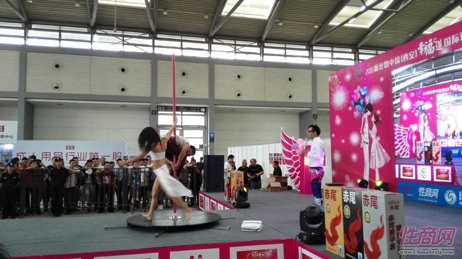 2016西安性博会现场报道――钢管舞表演图片26