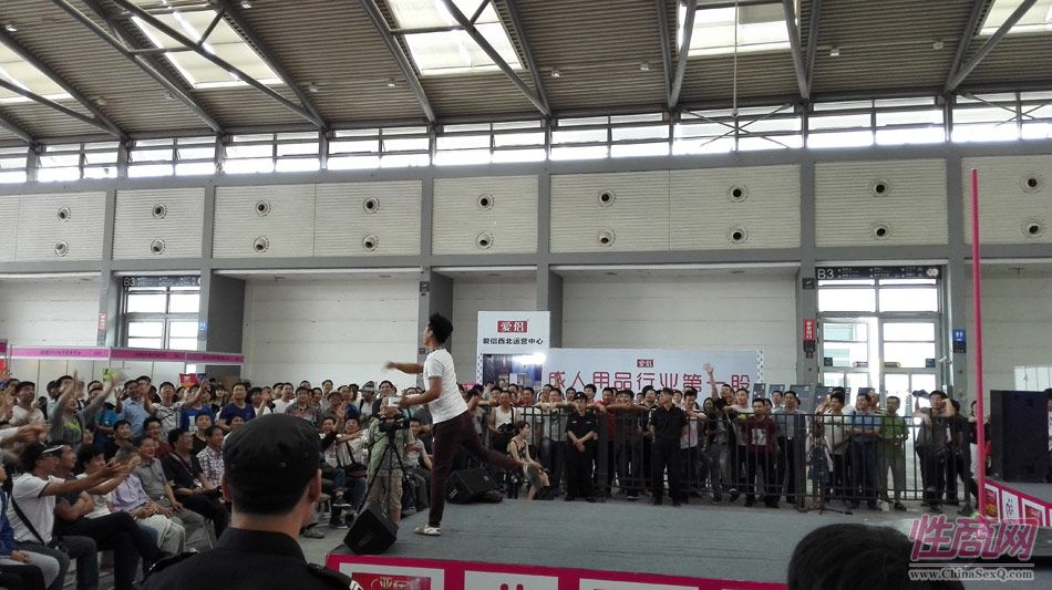 2016西安性博会现场报道――钢管舞表演图片30