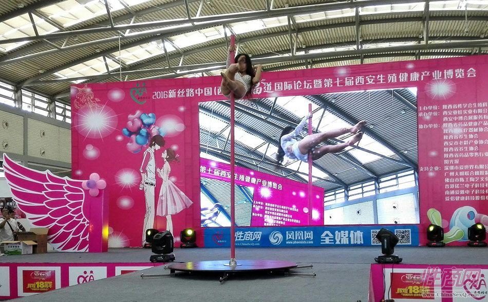 2016西安性博会现场报道――钢管舞表演图片62