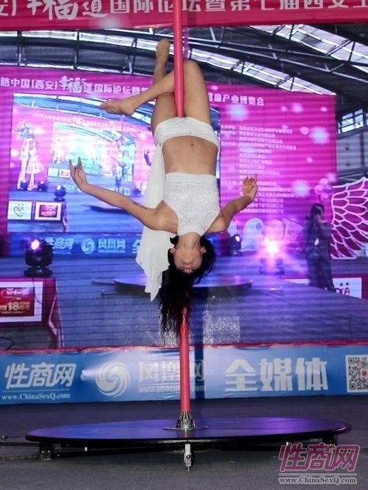 2016西安性博会现场报道――钢管舞表演图片76
