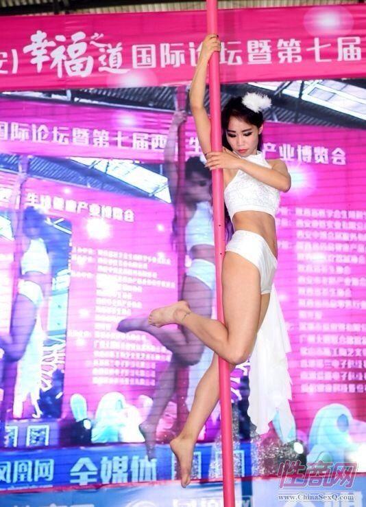 2016西安性博会现场报道――钢管舞表演图片74