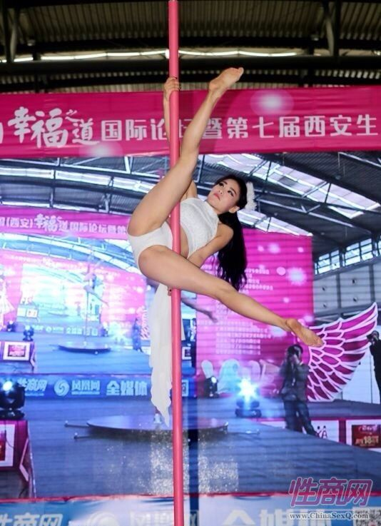 2016西安性博会现场报道――钢管舞表演图片75