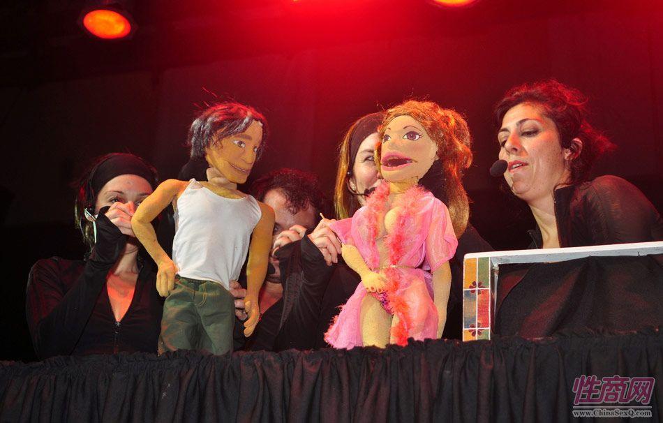 2012阿根廷成人展性教育木偶剧尽显童趣图片1