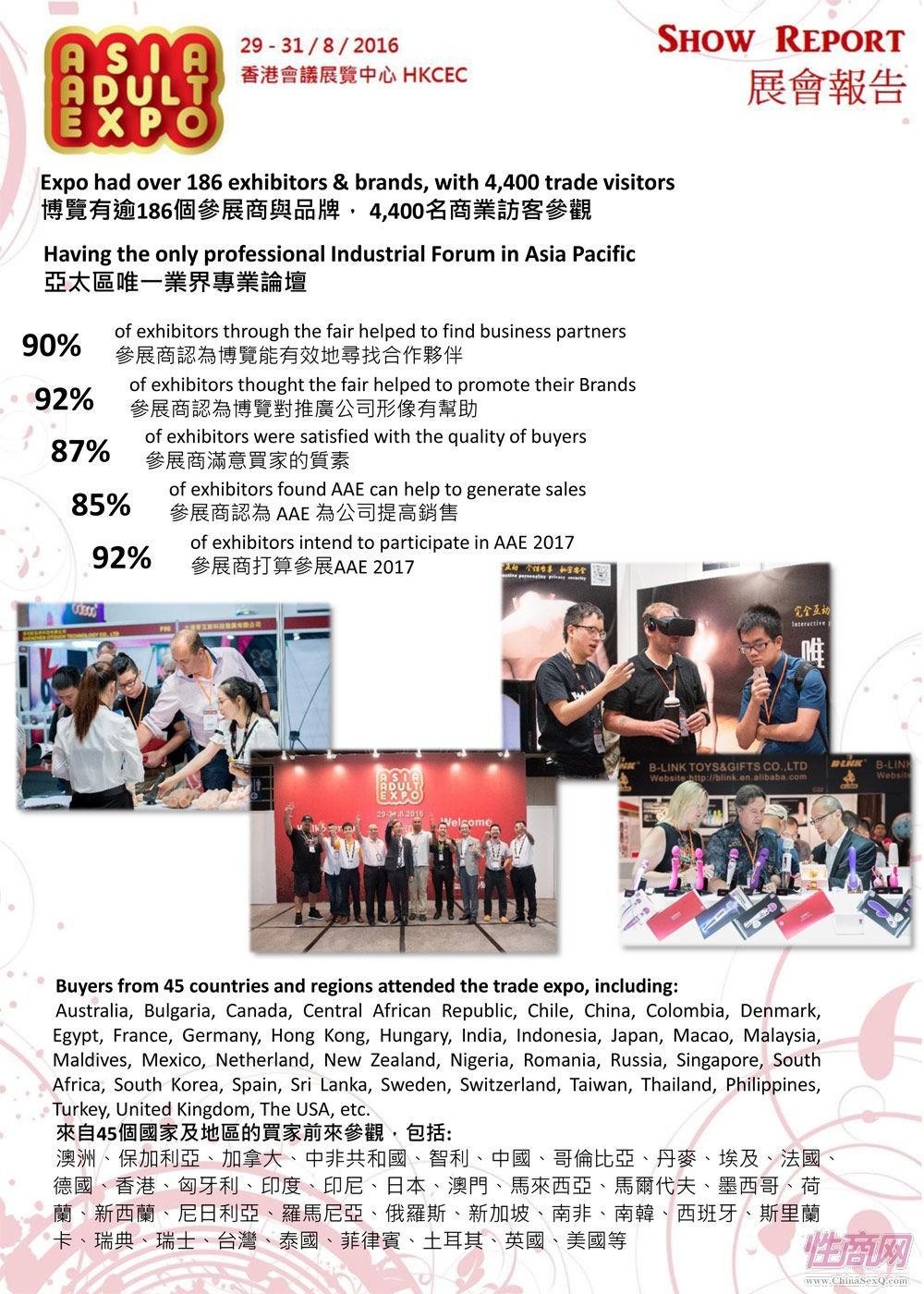 2016年亚洲成人博览AAE(香港)展后报道图片1