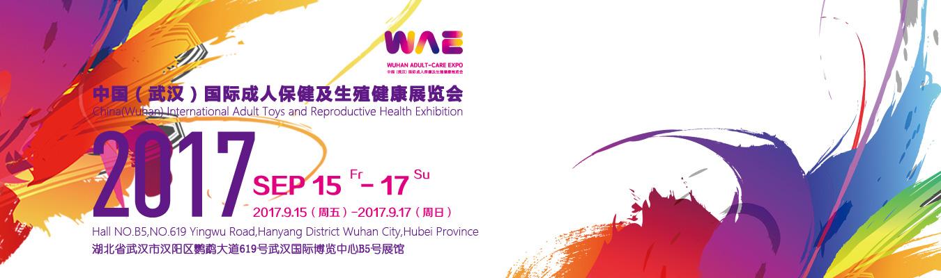 2017中国(武汉)国际成人保健及生殖健康展览会横幅banner