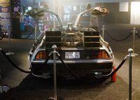 展馆内还看到神秘色彩的德劳瑞恩Delorean汽车