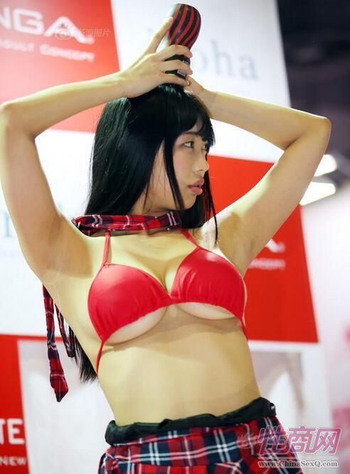 2017第十四届上海成人展:模特,女优吸睛