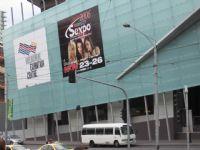 sexpo展会的大幅户外广告