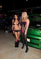 2011美国新泽西成人展eXXXotica香车美女图片2