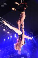 2009澳大利亚墨尔本成人展SuzieQ高空特技表演图片4