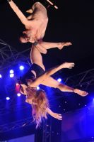 2009澳大利亚墨尔本成人展SuzieQ高空特技表演图片6
