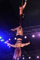 2009澳大利亚墨尔本成人展SuzieQ高空特技表演图片8