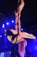 2009澳大利亚墨尔本成人展SuzieQ高空特技表演图片9