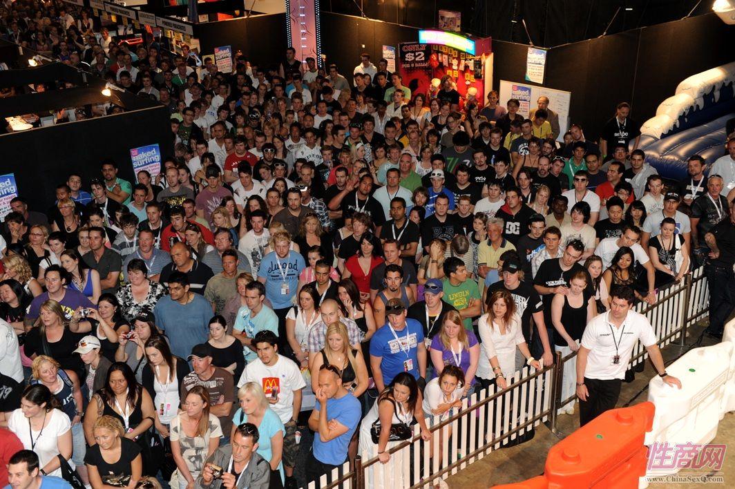 2009澳大利亚墨尔本成人展参展观众(2)图片1