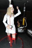 2012澳大利亚墨尔本成人展性感模特风情万种图片3
