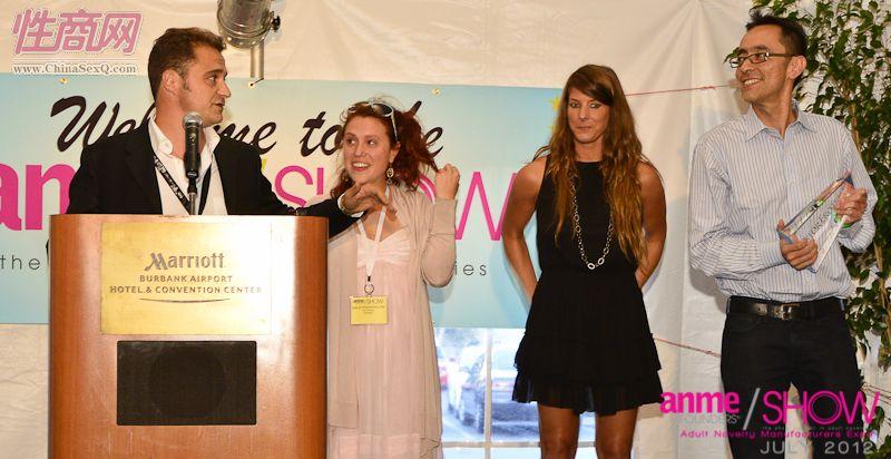 2012夏季美国洛杉矶成人展ANME颁奖典礼图片2