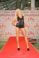 2014俄罗斯成人展高挑内衣模特诠释性感图片3