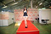 2014俄罗斯成人展高挑内衣模特诠释性感图片5