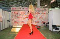 2014俄罗斯成人展高挑内衣模特诠释性感图片10