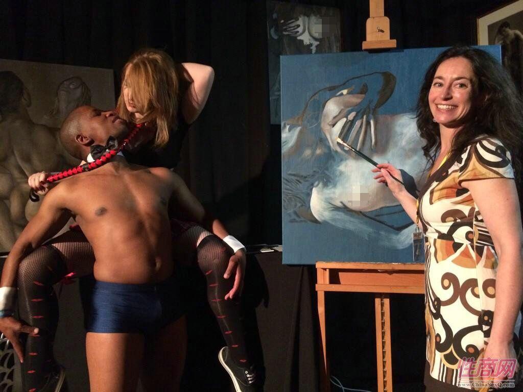 成人博览中的黑珍珠2014南非成人展Sexpo图片13