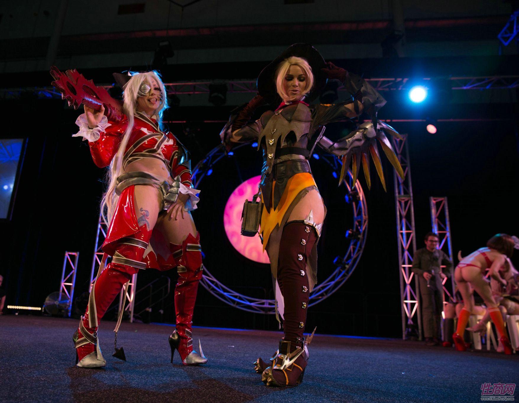 玩家展示cosplay