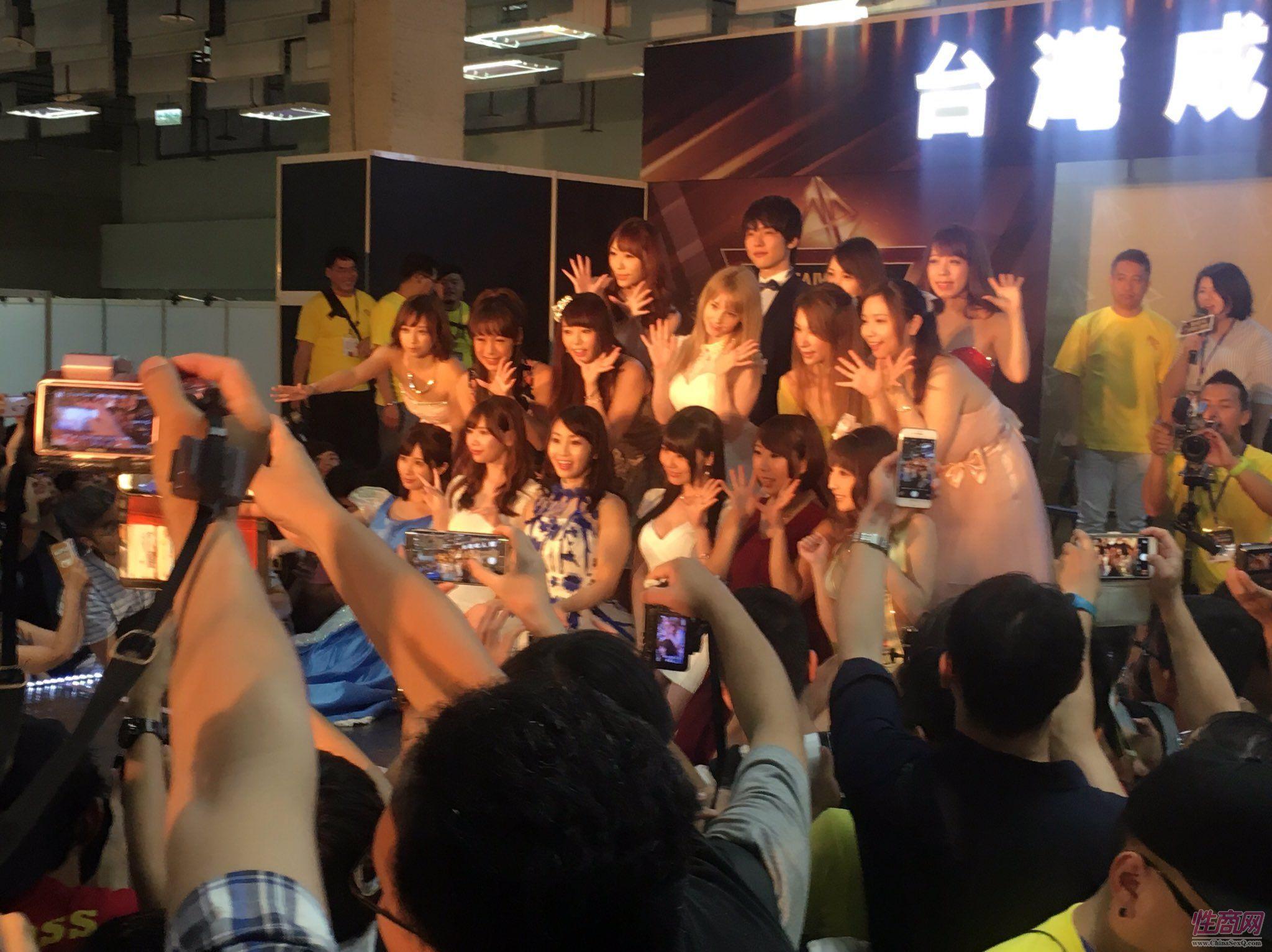 2017第六届台湾成人博览会女优嫩模云集图片30