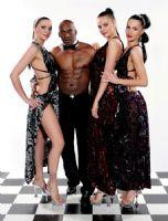 2014拉脱维亚成人展半裸热舞引爆现场气氛图片14