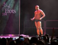 2014拉脱维亚成人展半裸热舞引爆现场气氛图片16
