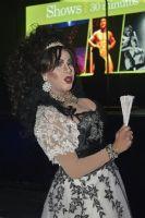 跨性别舞者进行表演