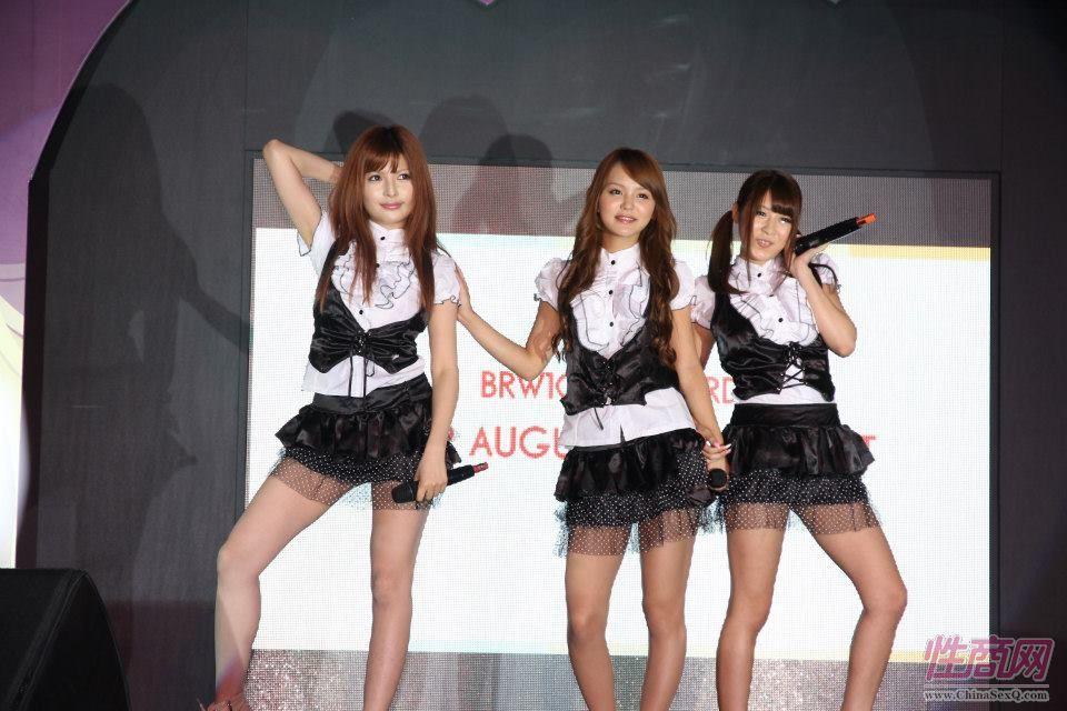 2012台湾亚洲成人博览女优助阵粉丝尖叫图片10