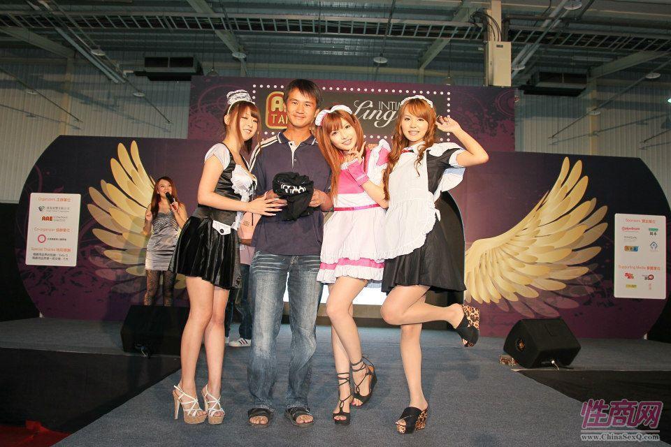 2012台湾亚洲成人博览女优助阵粉丝尖叫图片17