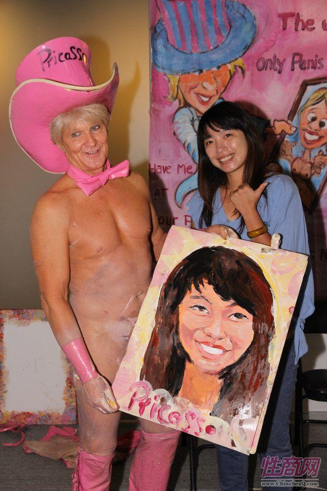 2012台湾亚洲成人博览惊现小弟弟油画家图片9