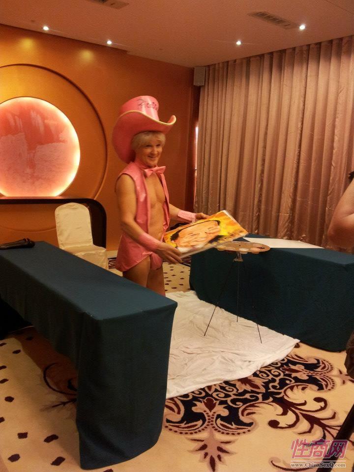 2012台湾亚洲成人博览惊现小弟弟油画家图片12