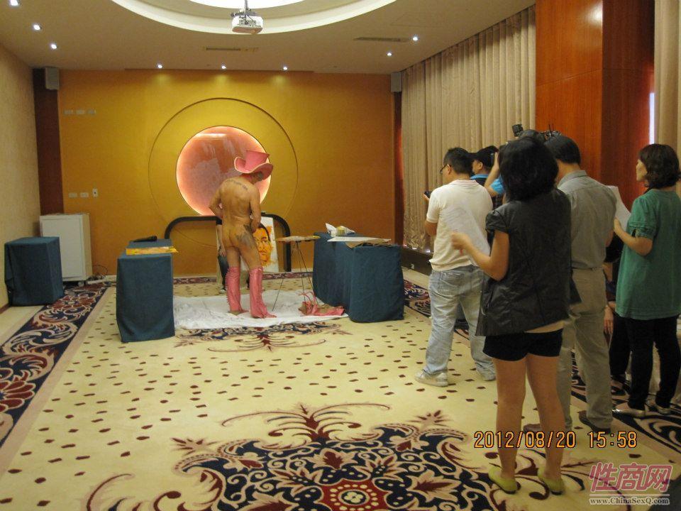 2012台湾亚洲成人博览惊现小弟弟油画家图片15
